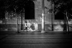 Proximity Projection (stephen cosh) Tags: 35mmsummilux analogue blackandwhite candid ferraniap30 film israel jerusalem leicam7 stephencosh streetphotography