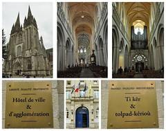 Quimper, 27.8.18 (ritsch48) Tags: frankreich france bretagne kathedrale saintcorentain cathédrale rathaus hôteldeville tikèr