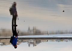 self portrait (archifra -francesco de vincenzi-) Tags: archifraisernia francescodevincenzi cádiz cadice oceano riflessi reflection autoritratto selfportrait españa andalusia