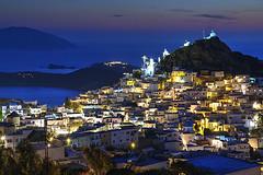 Ios by Night (hapulcu) Tags: aegean cyclades grece grecia greece griechenland ios kiklades mediterranean yunanistan island primavera printemps spring