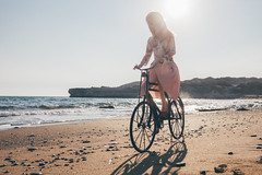 (mimiau_m) Tags: bjd asian doll zaoll luv recast beach sea autumn bicycle