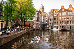 Armbrug (...Iwonttell) Tags: armbrug amsterdam netherlands europe travel explore wanderlust canals boat
