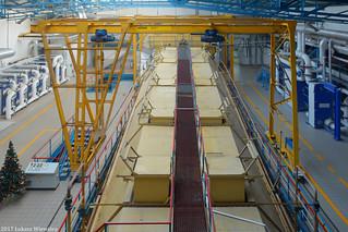 Krajowa Spółka Cukrowa S.A. Cukrownia Nakło - ekstraktor krajanki | Polish Sugar company, the Nakło sugar factory - an extractor