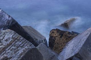 Rocas al mar