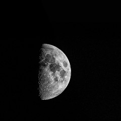 Moon 17 September 2018 (John Fenner) Tags: nikon d750 fullframe fx nikkor 200500mm f56 zoom moon lunar space astro