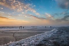 Flood (thijs.coppus) Tags: sky wolken clouds sand zonsondergang sunset netherlands nederland niederlande holland katwijkaanzee katwijk ozean oceaan ocean see meer zee sea playa plage strand beach