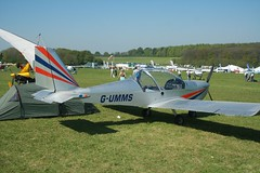 G-UMMS (IndiaEcho) Tags: gumms ev97 popham eghp airport airfield civil aircraft aeroplane aviation microlight fly in 2018 basingstoke hampshire england canon eos 1000d