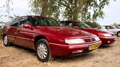 Citroën XM V6 Multimedia (Skylark92) Tags: citroën water forest boat sky grass gelderland maurik van eiland window windshield tree building car road citroen jaar 100 holland netherlands nederland vehicle xm v6 24v multimedia 92sbhr 1998 xantia 20i turbo ct activa xrrr81 1999 onk sign