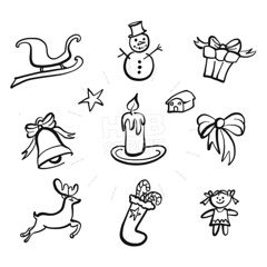 christmas icons drawings (Hebstreits) Tags: art background ball box candle candy card cartoon celebration christmas collection december decoration design doodle doodles draw drawing drawn element gift graphic hand happy holiday holly icon icons illustration isolated merry new ornament present season set sketch snow snowflake snowman star symbol vector white winter xmas year