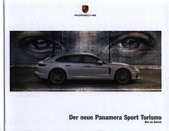 Der neue Porsche Panamera Sport Turismo - Mut als Antrieb; 2017_1, car brochure (World Travel Library - collectorism) Tags: porsche porschepanamerasportturismo porschepanamera 2017 carbrochurefrontcover frontcover car brochures sales literature germany deutschland auto worldcars world travel library center worldtravellib thecollection automobil papers prospekt catalogue katalog vehicle transport wheels makes models model automobile automotive motor motoring drive wagen photos photo photograph picture image collectible collectors ads fahrzeug german cars سيارة 車 automobiles documents dokument broschyr esite catálogo folheto folleto брошюра