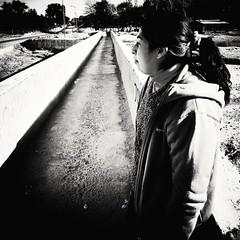 alone (darkus22c) Tags: camino sola pensativa