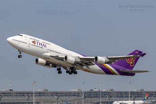 Thai Airways Boeing 747-4D7 HS-TGZ