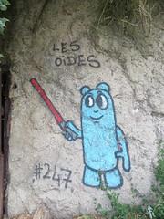 Les Oides #247 (emilyD98) Tags: street art saint nazaire insolite mur wall graff graffiti tag urban exploration explore rue les oides star wars sabre laser blockhaus bunker