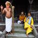 Sadhus at Pashupatinath