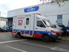 SVA con la antigua rotulación del 061 IB con las cajones (Emergencias Mallorca) Tags: 112 061 062 080 085 091 092 emergencias ambulancias bomberos policia guardiacivil