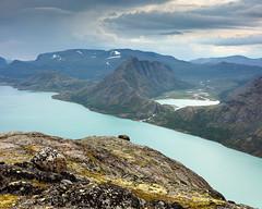 Besseggen Ridge IV (Gustaf_E) Tags: berg besseggenridge fjäll jotunheimen lake landscape landskap mountain nationalpark norge norway sjö