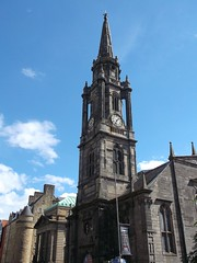 Edinburgh church (Valya Alexander2) Tags: edinburgh scotland church clock spire