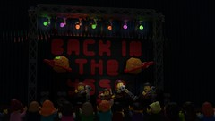 Back in the YSSR (John Moffatt) Tags: lego digital designer mecabricks blender render band stage notthebeetles back yssr