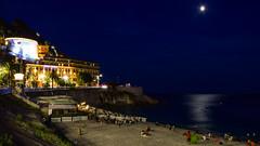 Nice Moonlight (cokbilmis-foto) Tags: nice nizza nikon d3300 nikkor 18105mm night nightshot