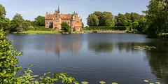 Egeskov (lucico) Tags: 2017 denmark egeskov slot danmark eu europa fyn lake castle château see