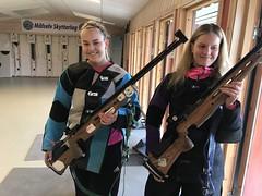 """FC 2018 Emma fra Nedre Målselv og Nathalie fra Alta skjøt begge 349 (ER) • <a style=""""font-size:0.8em;"""" href=""""http://www.flickr.com/photos/93335972@N07/44283295751/"""" target=""""_blank"""">View on Flickr</a>"""