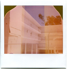 Polaroid Spectra Onyx Bates Motel - Projection 3 (▓▓▒▒░░) Tags: polaroid spectra onyx americas cup sailing special edition 1987 pro convention limited translucent 1980s 80s instant impossible project sonar autofocus luxury ultimate black gold cheesy filters multiple accessory folding pop up analog analogue mechanical vintage retro classic film camera design style la los angeles california wide angle