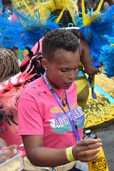 DSC_8056 Notting Hill Caribbean Carnival London Adrenaline Colourful Pink Tee Shirt girls Performers Aug 27 2018 Stunning Ladies (photographer695) Tags: notting hill caribbean carnival london exotic colourful costume girls dancing performers aug 27 2018 stunning ladies adrenaline pink tee shirt