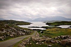The Road (plot19) Tags: outer hebrides scotland scotish uk britain british landscape love light isle isles islands island plot19 photography harris sea hills clouds rocks mood