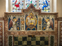 Mosaic altar (badger_beard) Tags: st peters church duxford cambridge cambridgeshire south cambs village parish grade listed historic heritage diocese ely hinkledux united benefice