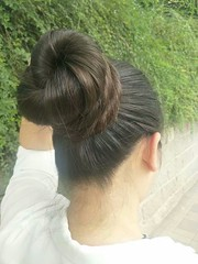 LHCB-R124 (韩老板收购长头发) Tags: longhair haircut hairshow hairplay braid ponytail hairbun