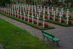 Orthodox war graves in Helsinki (frankmh) Tags: graveyard grave wargrave helsinki finland landscape cemetery