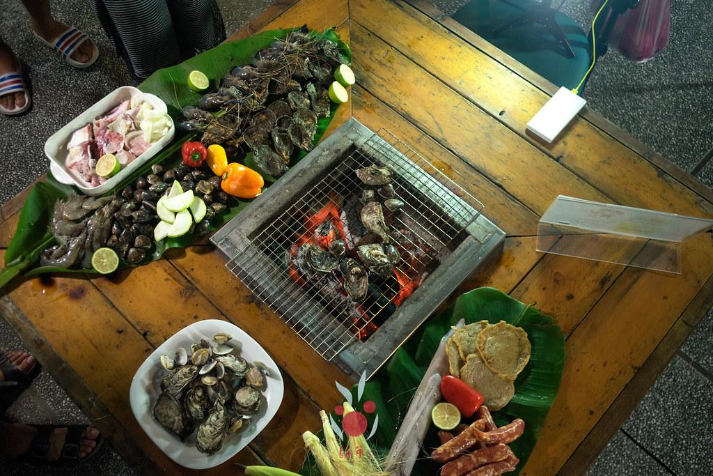 最奢華的中秋烤肉組之海鮮大集合:龍膽石斑、泰國蝦、蚵、大卷 |小農聯盟1