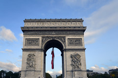L'arc de Triomphe from Avenue des Champs-Elysees, Paris, France (Standing in the middle of the busy road)  -  (Selected by GETTY IMAGES) (DESPITE STRAIGHT LINES) Tags: paris france parisfrance theeiffeltower eiffeltower eiffeltowerparis toureiffel landscape nikon24120mmf4 nikon24120mmf4gedvr nikon d850 nikond850 nikkor24120mm nikon24120mm nikongp1 paulwilliams despitestraightlines flickr gettyimages morning getty gettyimagesesp despitestraightlinesatgettyimages gustaveeiffel arcdetriomphe thearcdetriomphe arcdetriompheparis napoleon ilobsterit