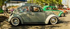 Volkswagen Beetle at Invasion Car Show - Dallas, TX (acstnl) Tags: sony a6000 asahi takumar 50mm 14 pentax bokeh bokehrama panorama volkswagen vw beetle vintage smc deep ellum tx texas dallas invasion car show 2018 brenizer