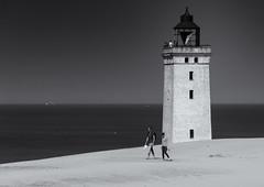 Rubjerg Knude lighthouse (michael_hamburg69) Tags: rubjergknude lighthouse dänemark danmark denmark rubjergknudefyr rubjerg jutland leuchtturm düne løkken wanderdüne dune sanddüne steilküste cliff skagerrak lokken