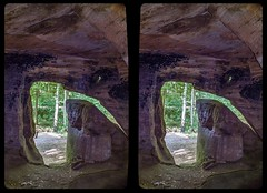 Daneilshöhle 3-D / CrossEye / Stereoscopy / HDR / Raw (Stereotron) Tags: sachsenanhalt saxonyanhalt ostfalen harz mountains gebirge ostfalia hardt hart hercynia harzgau huy daneilshöhle höhle cave hideout felsenburg rockcastle prehistoric prähistorisch sandstone sandstein europe germany deutschland cross eye view xview crosseye pair free sidebyside sbs kreuzblick bildpaar 3d photo image stereo spatial stereophoto stereophotography stereoscopic stereoscopy stereotron threedimensional stereoview stereophotomaker photography picture raumbild twin canon eos 550d remote control synchron kitlens 1855mm 100v10f tonemapping hdr hdri raw availablelight