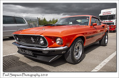 1969 Ford Mustang (Paul Simpson Photography) Tags: fordmustang ford sportscar fastcar classiccar southyorkshiretransportmuseum rotherham paulsimpsonphotography americancar september 2018 imagesof imageof photoof photosof transport car motorcar transportshow england carshow sonya77 musclecar tyre tires southyorkshire