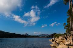 Lac de l'Ospédale - Corse (louisnairaud) Tags: lake me colorful d5200 sigma nikon clouds water landscape