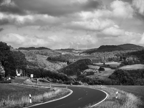 Way to the volcanic Eifel