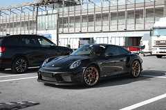 Black & Gold (Ste Bozzy) Tags: porsche 911 991 gt3 rs rennsport porschegt3 porschegt3rs porschegt3rsmk2 porsche991gt3 porsche991gt3rs porsche991gt3rsmk2 blackandgold blackgt3rs german sportscar supercar track toy tracktoy trackfocused flat6 automotive car exotic pistenclub trackday monza monzacircuit italy 19bozzy92