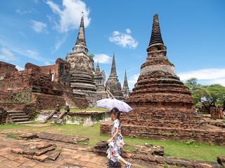 Wat Phra Si Sanphet. Ayutthaya. Unesco Thailande