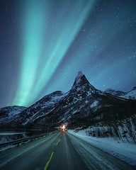 Stetind Aurora (Jay Daley) Tags: longexposure arctic norway worldwonders naturalphenomenon outdoors nightsky stars photography astro nightphotography northernlights auroraborealis aurora