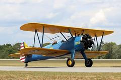 Stearman PT-17 (rbeechy) Tags: boeing stearman pt17 a75n1 418022 n49760 biplane trainer propeller pistonengine radialengine titusville usaaf usaac