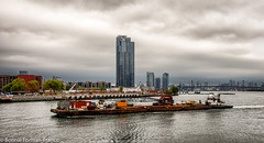 WORKING THE WATERWAYS...20180907_2018 HUNTERS POINT SOUTH PARK_D85_4947 (Bonnie Forman-Franco) Tags: nycwaterways nyc queens transportation waterwaytransportation tugboat cargoship waterways photoladybon photography landscapephotography cityscape nikon nikonphotography longislandphotographer hunterspointsouthpark nikond850 nikon28300 topazstudio hdr