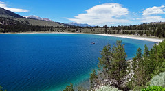 June Lake, North Beach, Sierra Nevada, CA 2016 (inkknife_2000 (9.5 million views)) Tags: easternsierranevada california usa landscapes mountains dgrahamphoto junelake mountainlake thunderhead skyandclouds forest