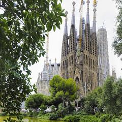 La Sagrada Familia. BARCELONA. CATALUNYA. SPAIN. (MARIANO GARCIA MONZON) Tags: nikond300 cubism nikon d300