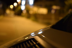 Street and car (navarrodave80) Tags: night bokeh car blur dof nikon d3300 nikkor 35mm18 street city