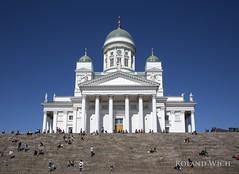 Helsinki (Rolandito.) Tags: europe europa finland suomi finnland helsinki cathedral dom dome