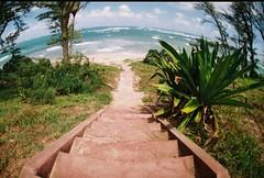 000041 (nautical2k) Tags: malaekahanastaterecreationarea malaekahana state recreation area hawaii oahu pentaxme fujisuperiaxtra400 film 35mm