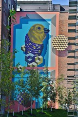 Mural, 539 King Street West, Toronto, ON (Snuffy) Tags: mural streetartgallery 539kingstreetwest toronto ontario canada